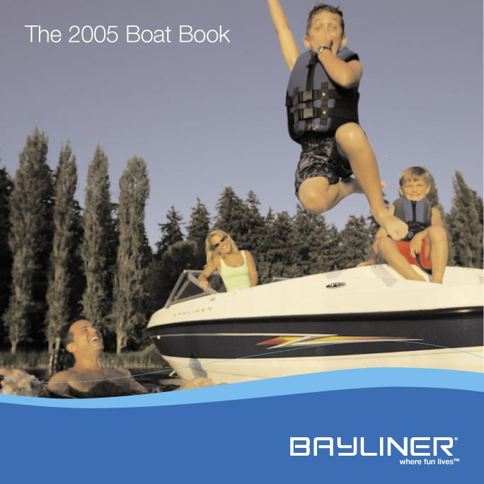 Sample: Bayliner catalog cover